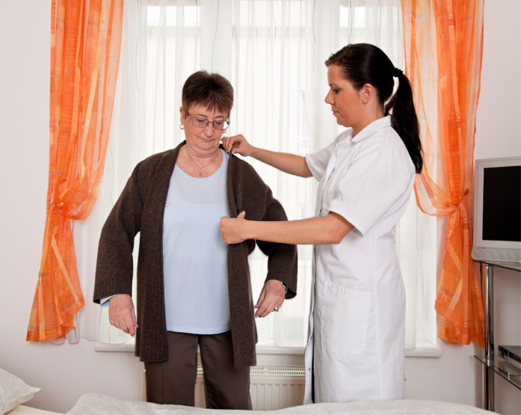 Home Care in Sayville NY: Dressing Your Senior